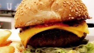افضل طريقة برجر لحم لذيذه تنافس المطاعم  making best beef burger