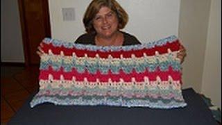 Caribbean Breeze Crochet Rag Rug Part 2