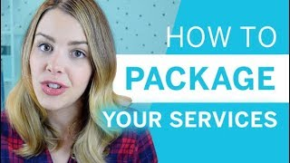 How to Package Your Services