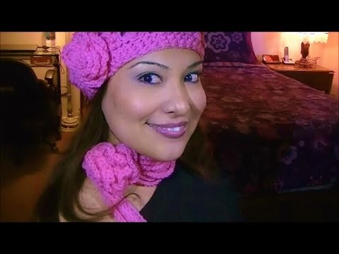 How to Crochet a Rose Scarf for Spring Season