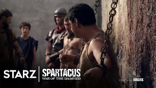 Spartacus: War Of The Damned | Episode 2 Clip: The Stoning | STARZ