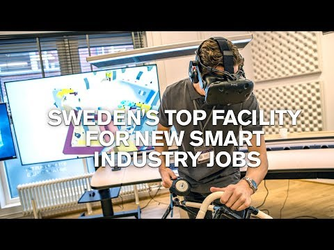 Open now: Sweden's top facility for new smart industry jobs