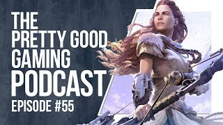 Jake ADJUSTS His Chair  MORE  Pretty Good Gaming Podcast 55