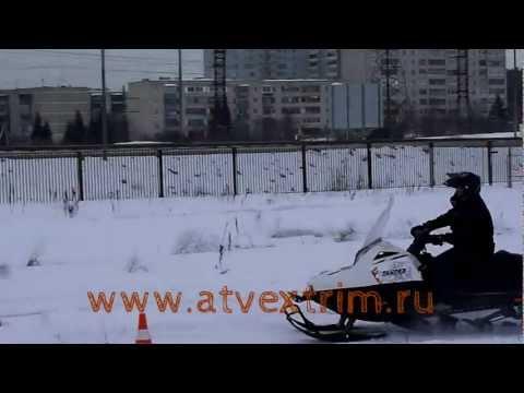 покатушки на снегоходе Stels 520
