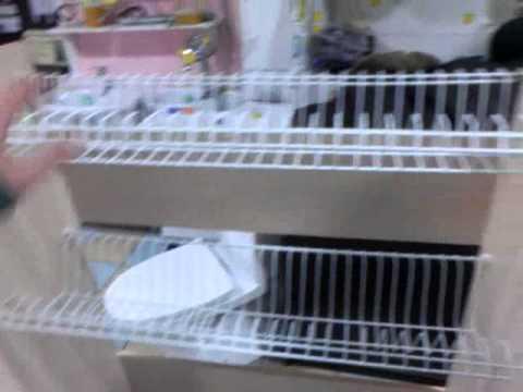 видео: Своими руками - Полка для сушки посуды
