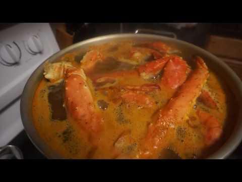 SEAFOOD BOIL RECIPE #2 KING CRAB LEGS, BLACK TIGER SHRIMP, LOBSTER TAILS