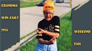 Grandma WIN/FAIL Compilation 2016 || Weekend 8