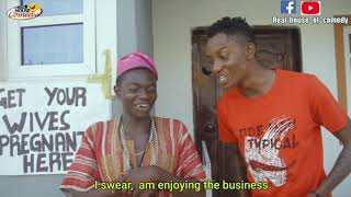 Download Thespian Nozy Comedy - Get your wives pregnant here (Real House of Comedy)