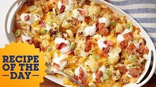 Recipe of the Day: Loaded Cauliflower Casserole   Food Network