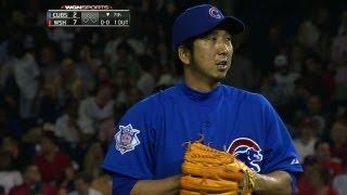 CHC@WSH: Fujikawa tosses scoreless seventh in return