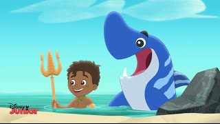 Jake and the Never Land Pirates | Look Out...Never Sharks! | Disney Junior UK