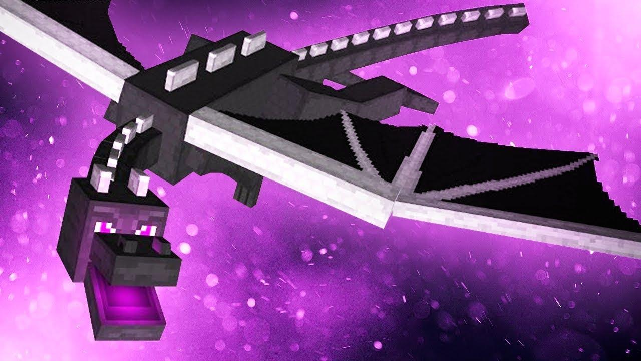 Crear el portal Ender _ Batalla contra Ender Dragon _ Truco para eliminar al Dragón de Ender