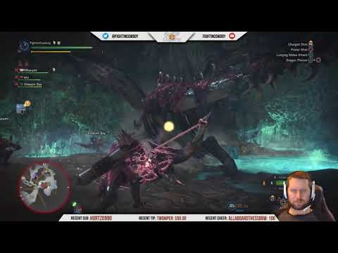 Monster Hunter World - HR75, End Game Farming /w Viewers