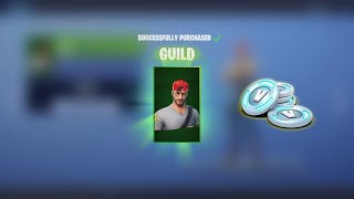 Buying NEW Fortnite Skins Today! Spending 3,100 V-Bucks NEW 'AURA' & 'GUILD' (Fortnite Today)