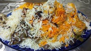Chicken lucknowi  Yakhni Pulao