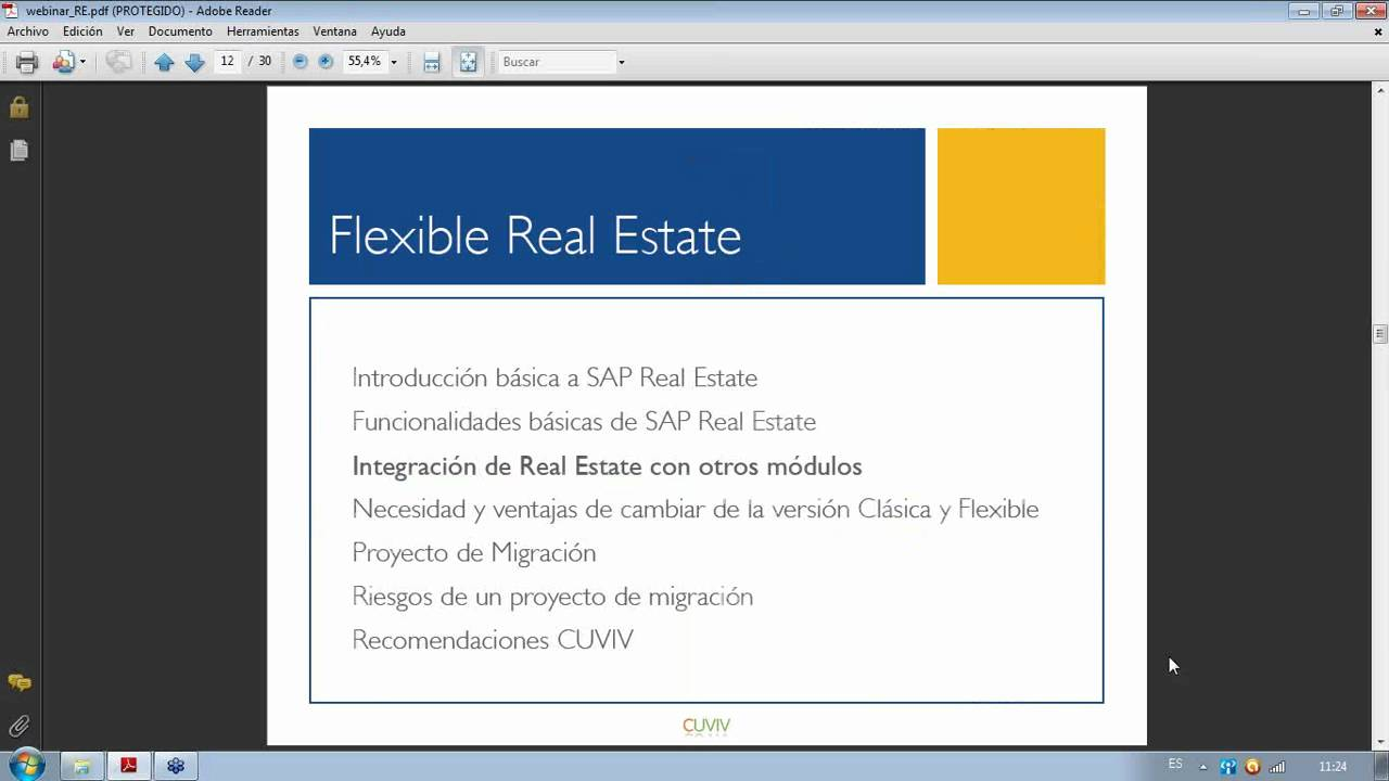 Sap flexible real estate explicaci n de mejoras y for Classic homes real estate