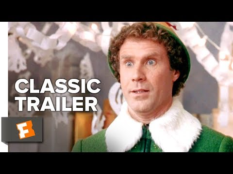 Elf (2003) Official Trailer #1 - Will Ferrell, Zooey Deschanel Christmas Movie HD