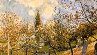 Alfred Sisley and Beck-Canceled Check