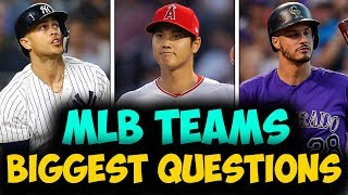 BIGGEST QUESTION For EVERY MLB Team in 2019