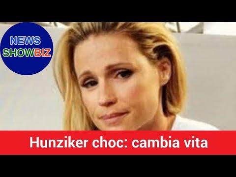 Hunziker choc: cambia vita. La notizia che circola nelle ultime ore lascia a bocca aperta