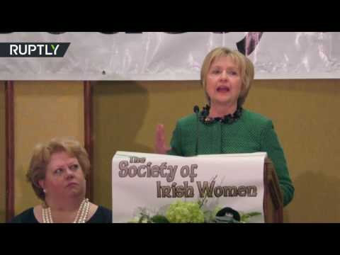 Clinton says she's 'ready to come out of the woods'