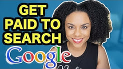 HOW TO EARN MONEY ONLINE BY SEARCHING GOOGLE! GET PAID FOR SURFING THE WEB! (WORLWIDE)