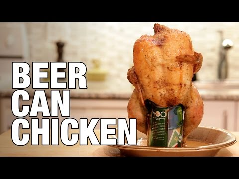 Beer Can Chicken (Oven Baked) | The Hungry Bachelor