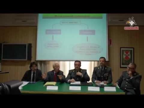 """Operazione """"VIOLENTEMENTE INVESTITO"""" della GdF 16 arresti a Catanzaro"""