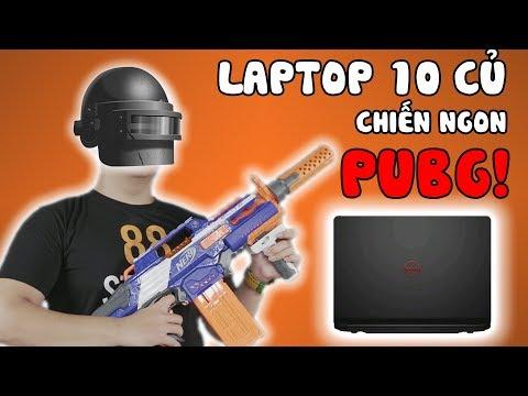 LAPTOP 10 CỦ | CHIẾN NGON PUBG | Đánh Giá Chi Tiết Dell 7447