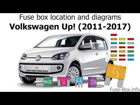 Fuse box location and diagrams: Volkswagen Up! (2011-2017)