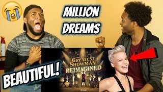 P!nk - A Million Dreams (from The Greatest Showman: Reimagined) REACTION! Video