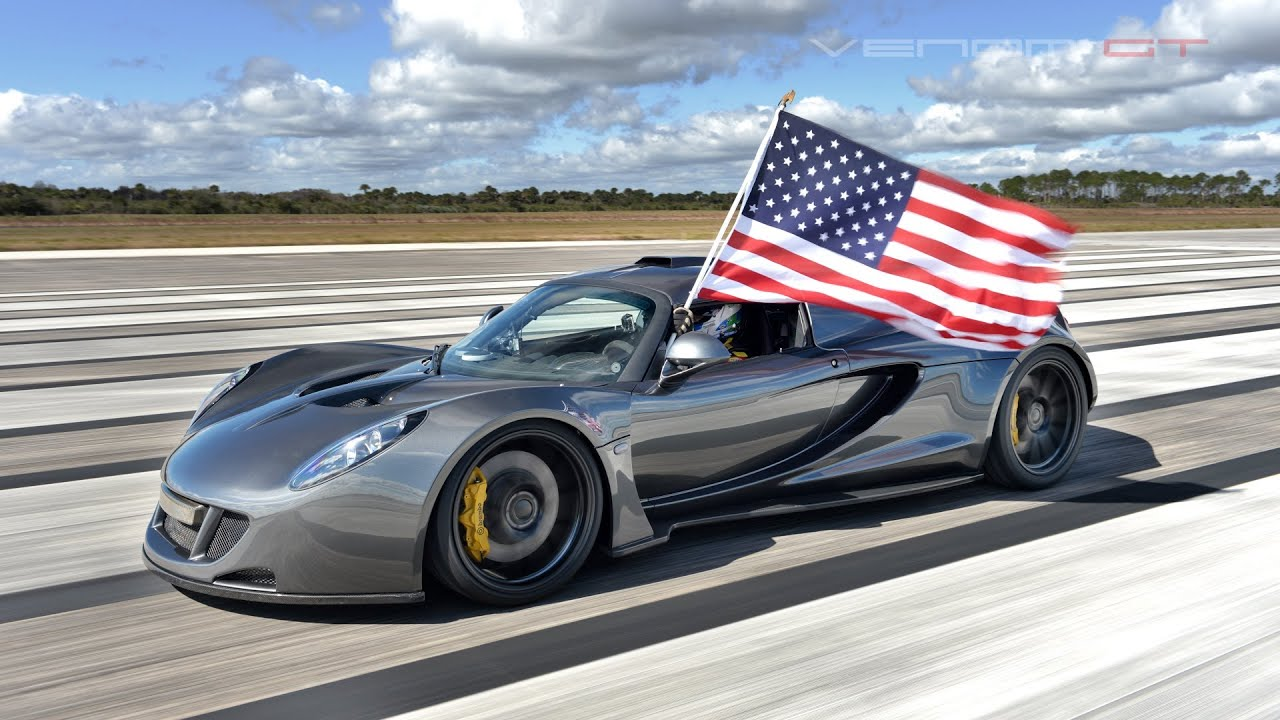 World's Fastest: 270.49 mph Hennessey Venom GT - YouTube