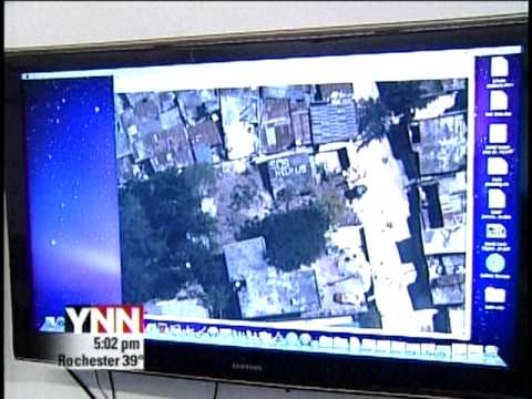 RIT on TV News: Mapping Haiti