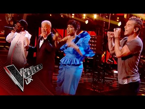 The Coaches perform 'Freedom' | The Voice UK 2017
