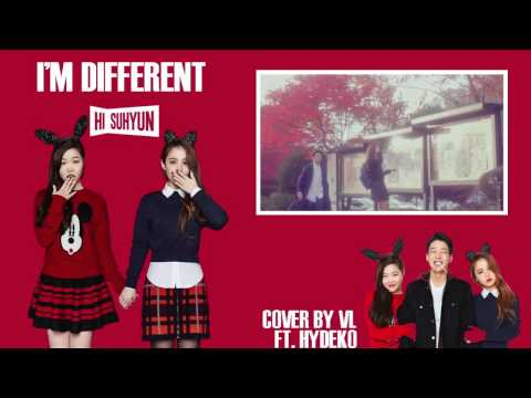 [COVER Ft. Hydeko] Hi Suhyun Ft. Bobby I'm Different