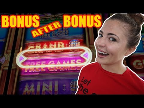 BONUS after BONUS on Wonder 4 Spinning Fortunes in Vegas! - 동영상