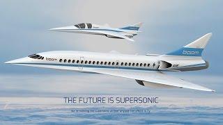 Самый быстрый пассажирский самолёт в мире строят в США (новости)