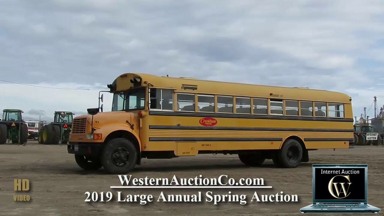 International 3800 School Bus For Sale At Auction! 850