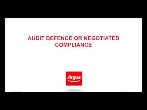 Case Study: Audit Defence Strategies at Argos