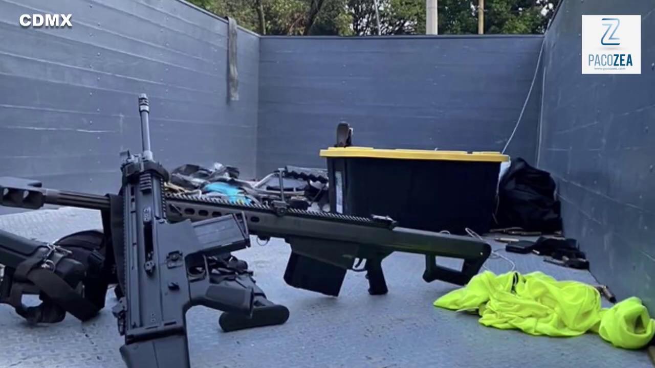 Desarrollo del atentado contra Omar García Harfuch