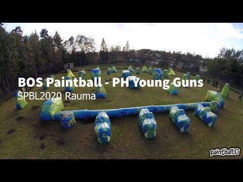 BOS Paintball vs PH Young Guns - SPBL2020 Rauma