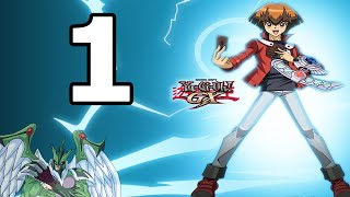 Yu-Gi-Oh! GX Tag Force Evolution Walkthrough Part 1 - No Commentary Playthrough (PS2)