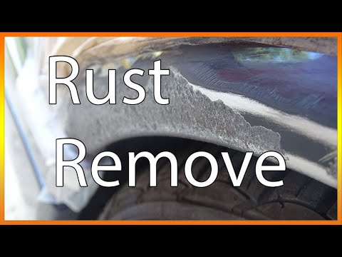 Temporarily removing rust | Epoxy primer | Clear Varnish | Spray Paint
