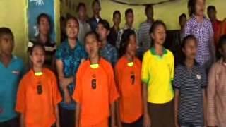 Latihan Koor SMAK Andaluri - 16 Agt 2014 - Andika Bhayangkari