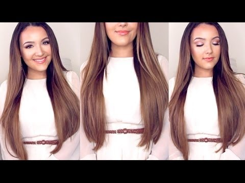 How to Clip in Hair Extensions + Review
