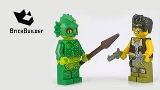 Lego Monster Fighters 9461 The Swamp Creature Build & Review