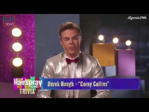 Hairspray Live! Trivia with Derek Hough as Corny Collins