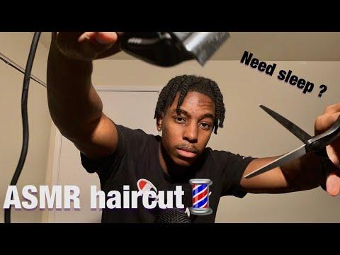 [ASMR] relaxed haircut / trim for sleep 💤