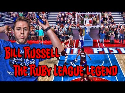 Is Bill Russell The Most Clutch Player EVER?!? NBA 2K17 MY TEAM LEGEND!