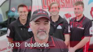 Deadlocks   Pick Me Locksmith Top Tip 13